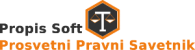 Prosvetni pravni savetnik: logo